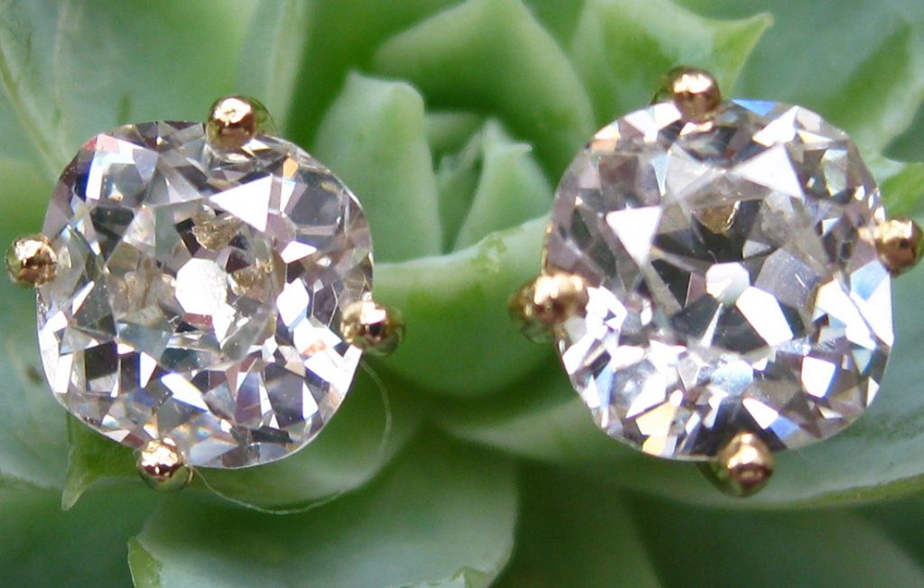 Jaqui's Diamond Earrings